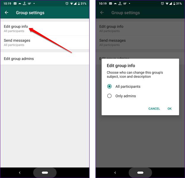 image de Comment créer et gérer des groupes restreints dans WhatsApp 4