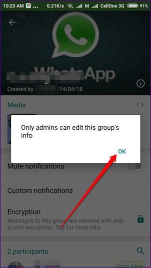 image de Comment créer et gérer des groupes restreints dans WhatsApp 6