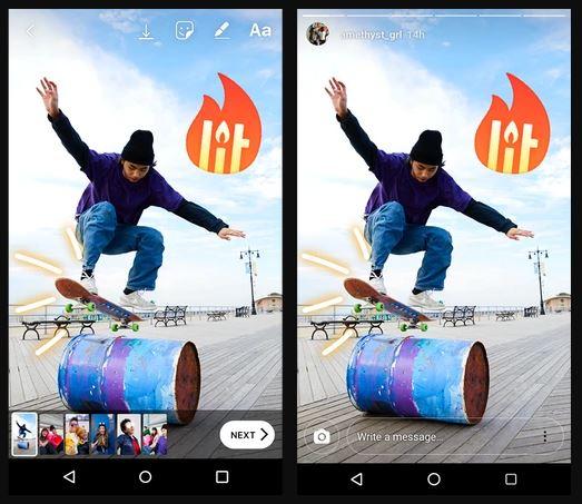 image de Comment poster des stories sur Instagram de plus de 15 secondes sur Android 5