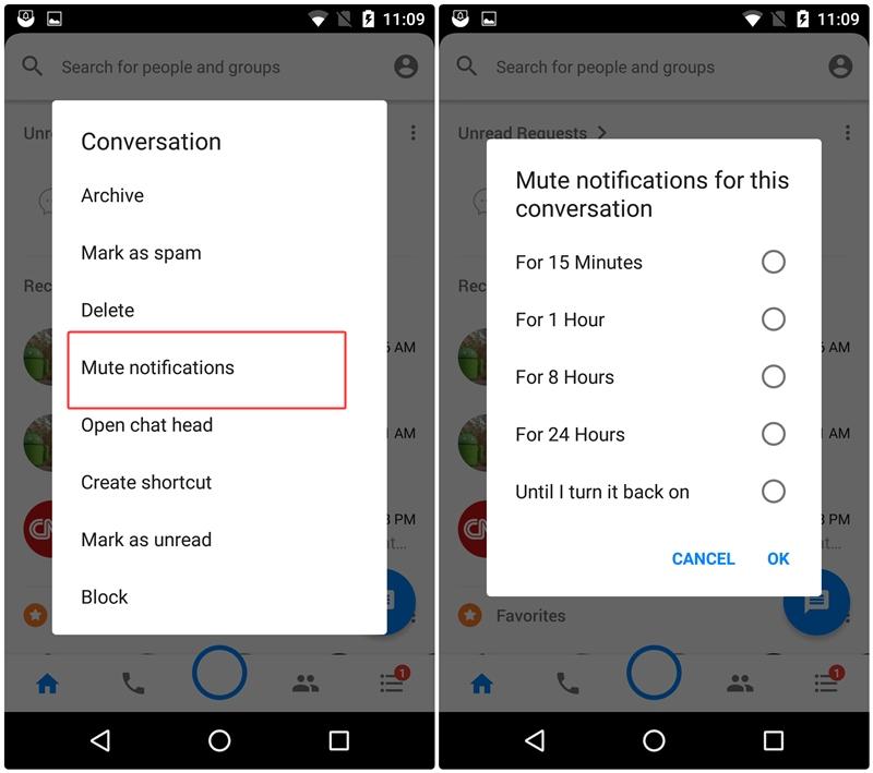 image de Quitter une conversation de groupe sur WhatsApp ou Facebook Messenger sans que personne ne le remarque 2