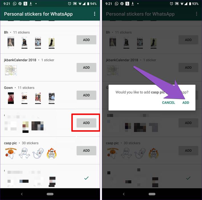 image de Comment utiliser les stickers Telegram dans WhatsApp pour Android 4