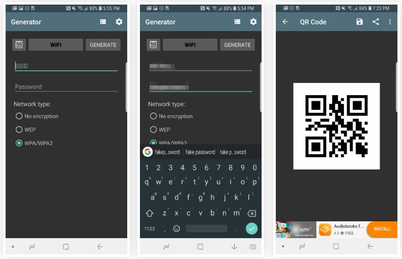 image de Partagez votre mot de passe Wi-Fi avec un code QR sur Android 3