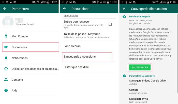 image de Comment transférer d'anciens chats WhatsApp sur votre nouvel Android 2