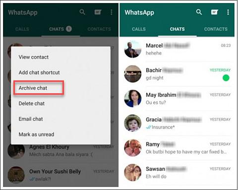 image de Conversations secrètes : Cachez vos chats Facebook Messenger et WhatsApp 2