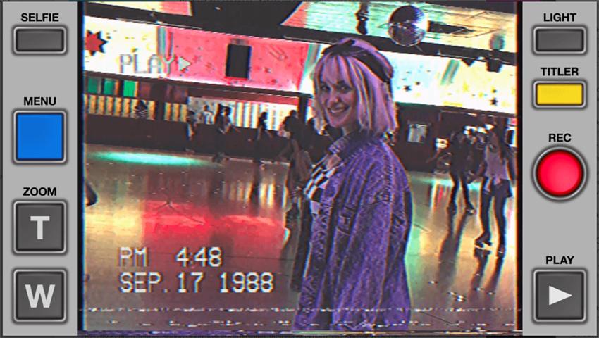 image de Retour aux années 80! Enregistrez des vidéos et photos dans le style VHS sur Android 2