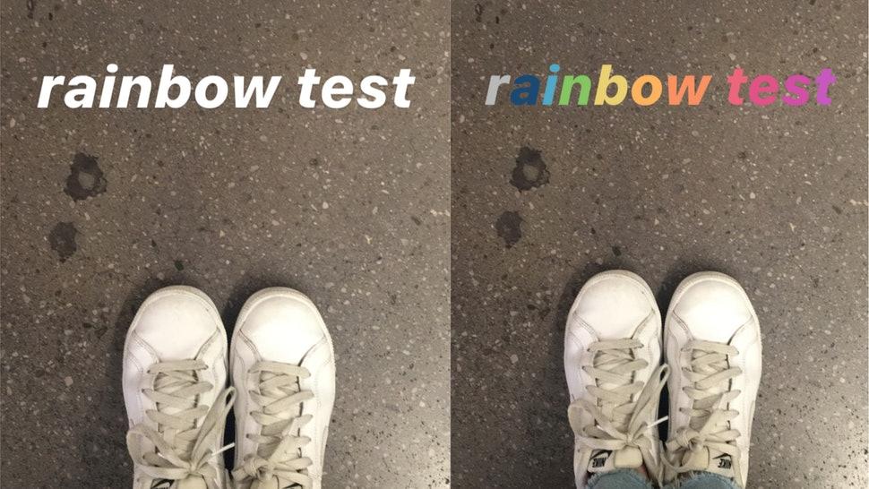 image de Comment ajouter du texte arc-en-ciel dans vos stories Instagram 6