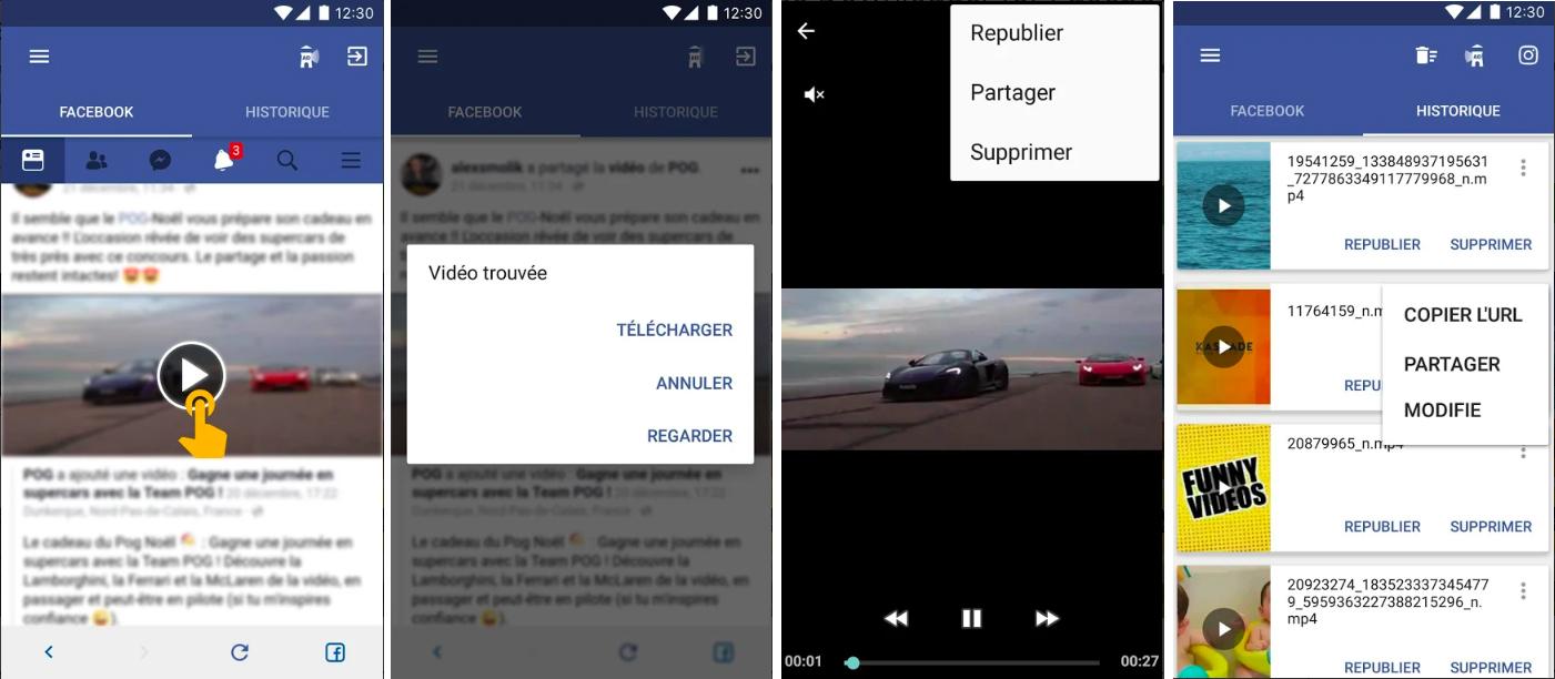 image de Comment télécharger des vidéos Facebook sur votre Android 2
