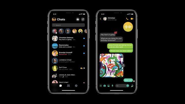 image de Facebook Messenger Dark Mode est enfin arrivé : déverrouillez-le avec un Emoji 3
