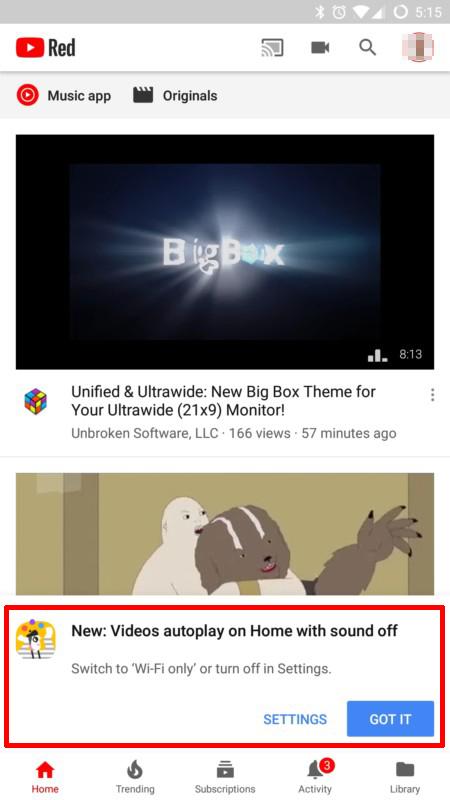 image de Comment désactiver la lecture automatique des vidéos YouTube sur Android 2