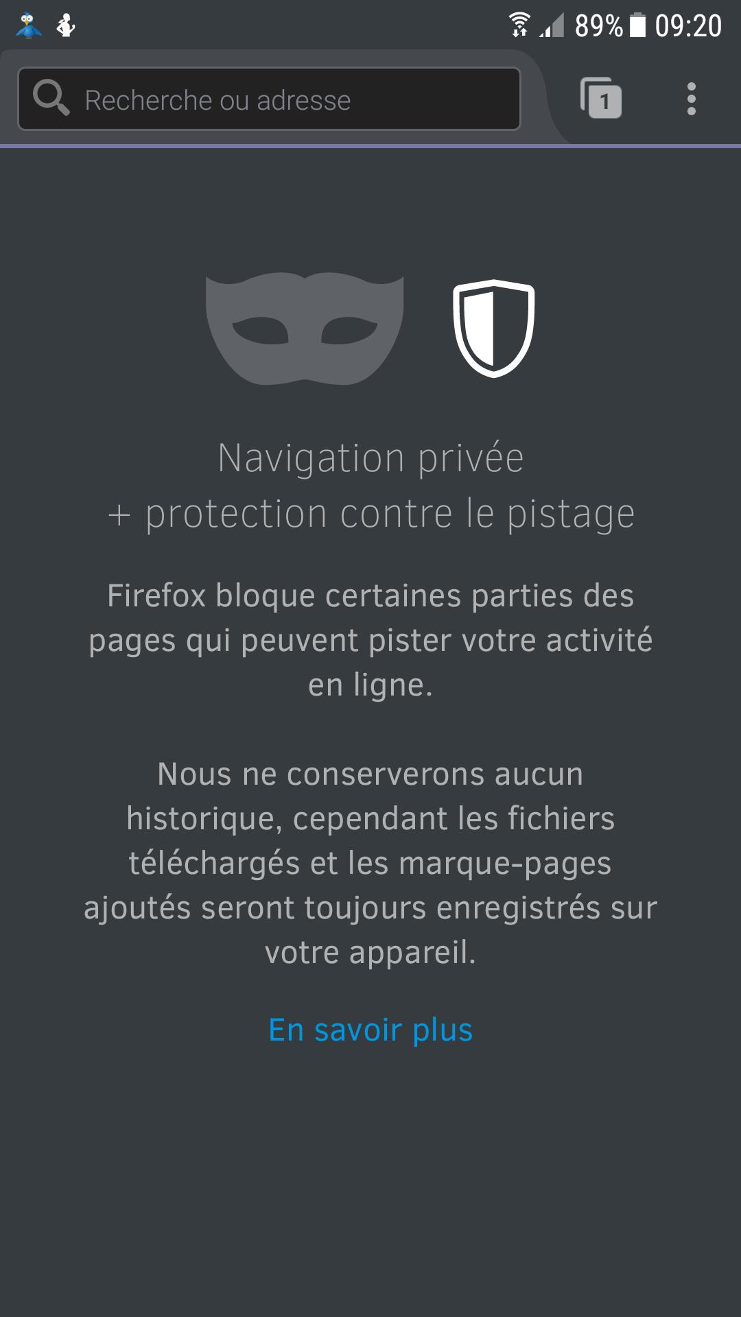 image de Navigation privée: comment utiliser le mode incognito sur Android 7