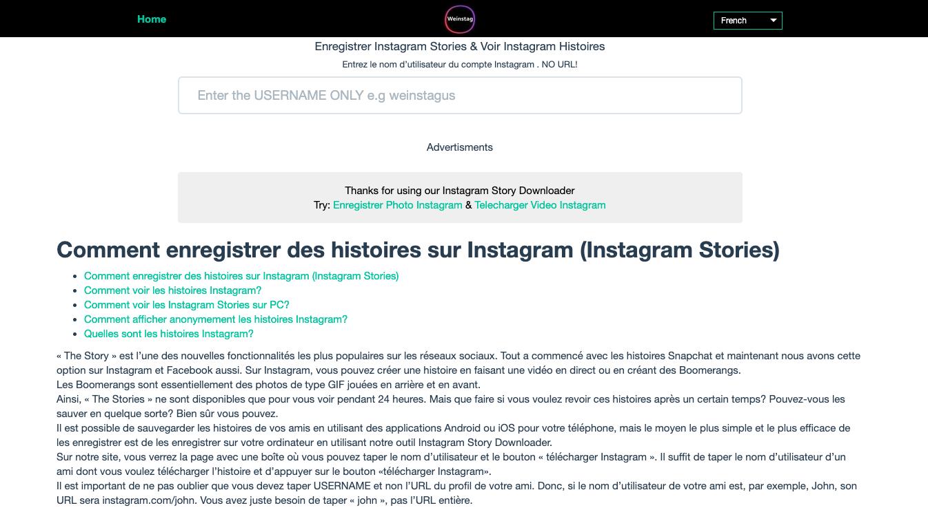 image de Comment visionner les stories Instagram sans que personne le sache 5