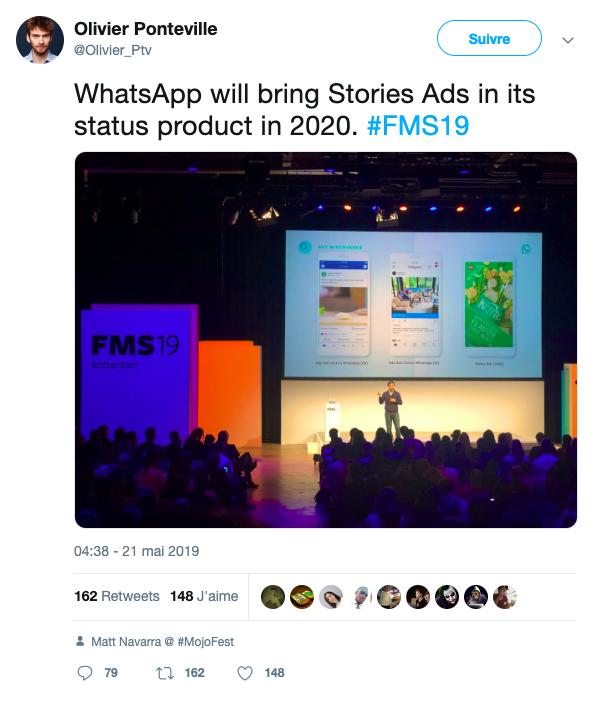 image de WhatsApp commencera à afficher des publicités en 2020 : voici à quoi cela ressemblera 2