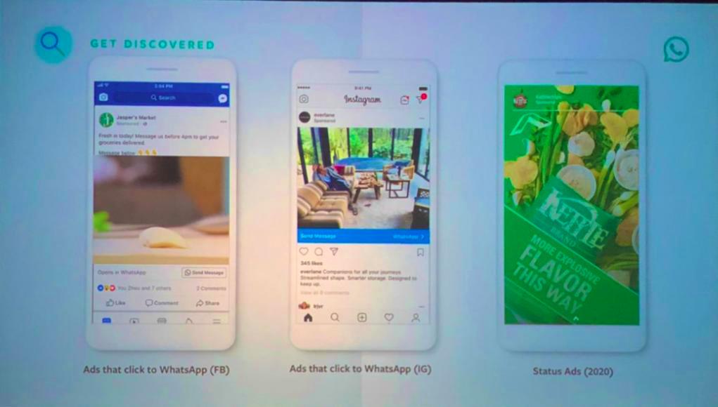 image de WhatsApp commencera à afficher des publicités en 2020 : voici à quoi cela ressemblera 3
