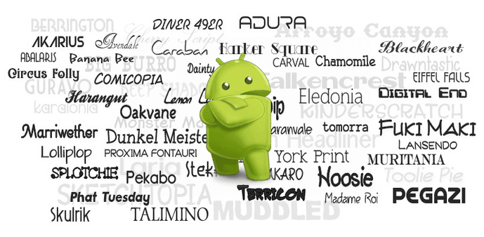 Voici comment changer les polices système sur Android sans le rooter