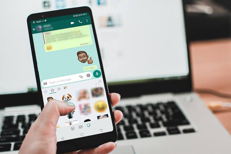 image de Comment utiliser les stickers Memoji sur WhatsApp sur Android 8