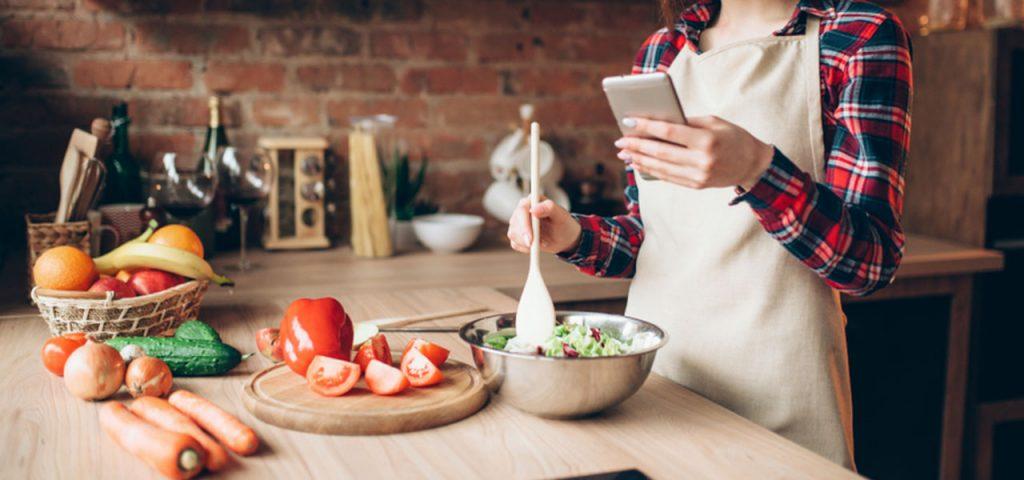 Covid-19 : 5 applications de recettes faciles à cuisiner pendant la quarantaine !