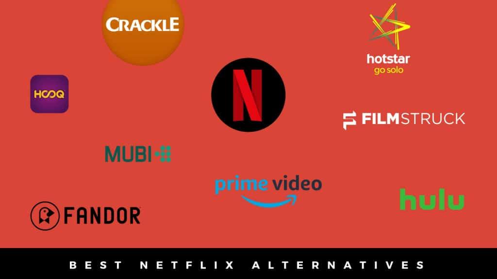 Meilleures alternatives gratuites à Netflix pour Android