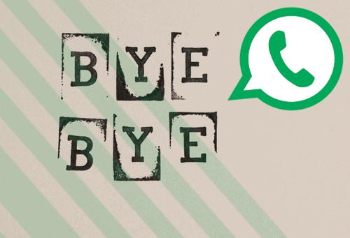 Comment quitter un groupe WhatsApp en douce
