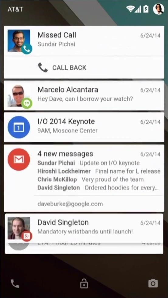 Heads Up de Android L
