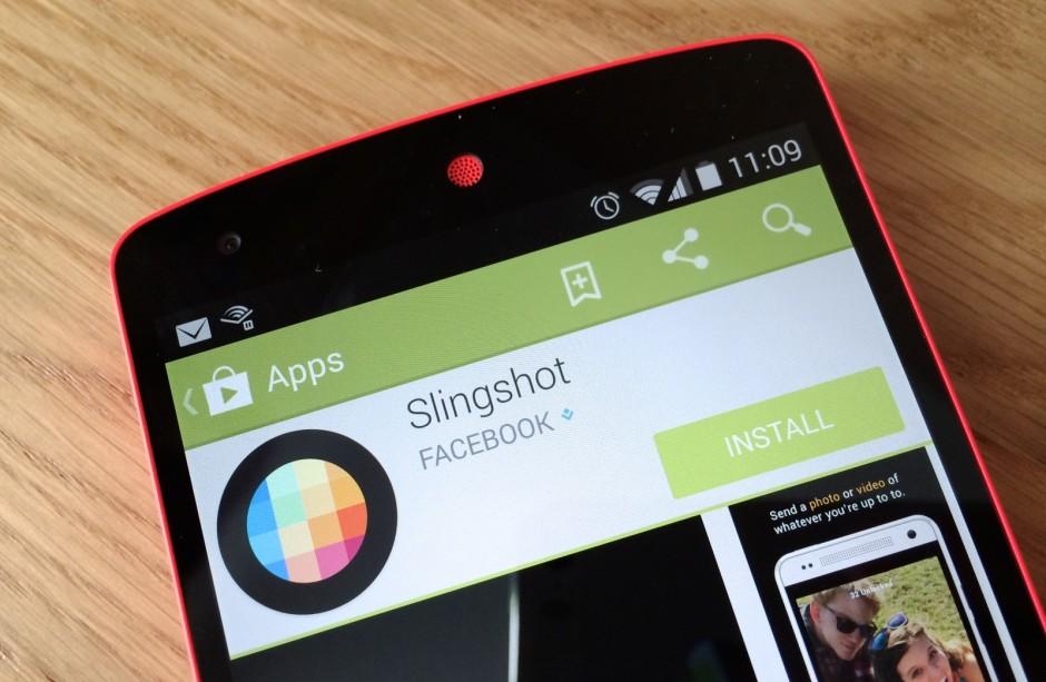 La nouvelle application Slingshot Facebook par Snapchat