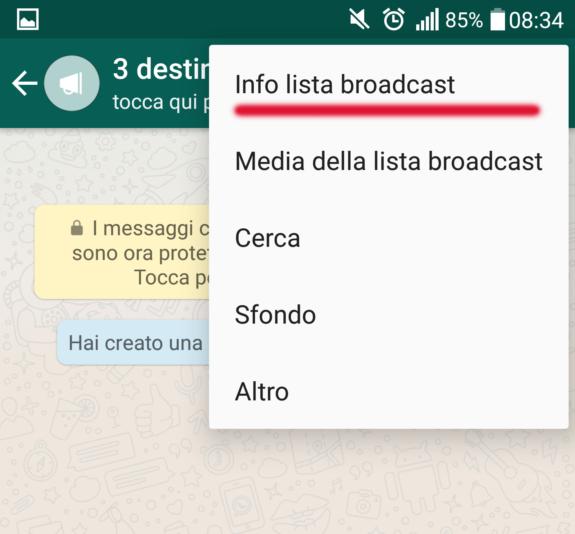 Screenshot broadcast