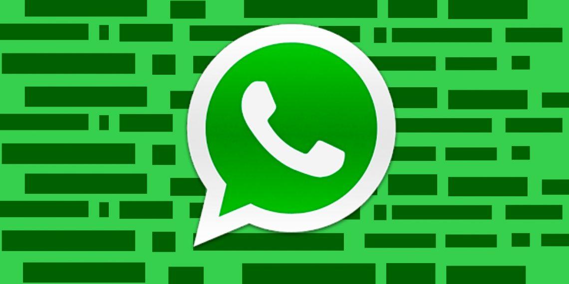 Image 1 Come cambiare la formattazione del testo di WhatsApp