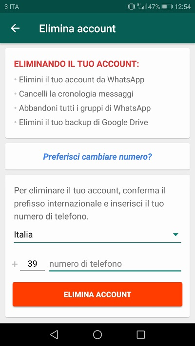 Screenshot2 soluzioni whatsapp