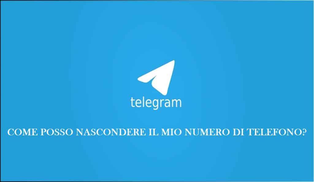 Come nascondere il proprio numero di telefono su Telegram