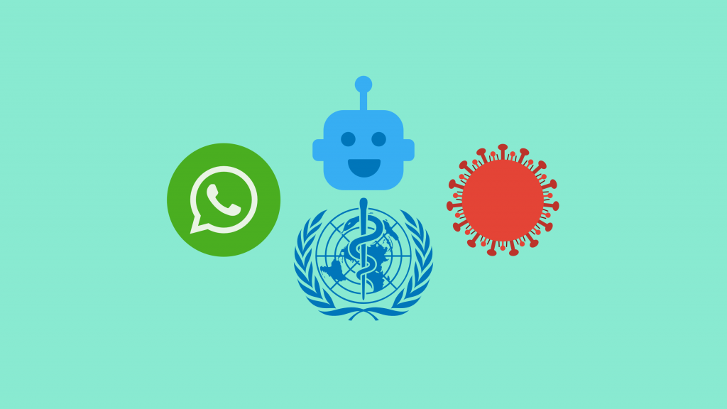 Abonniere den WhatsApp Bot der WHO für zuverlässige Fakten zum Corona Virus