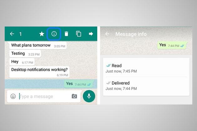 Whatsapp Info Gelesen