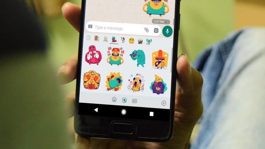 Suche nach Stickern mit der neuen WhatsApp Beta