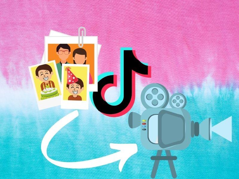 So machst du aus deinen Fotos Slideshows für TikTok
