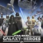"""Nur für Euch! Der brandneue Trailer von EA´s kommendem kartenbasierten Rollenspiel """"Star Wars: Galaxy of Heroes""""!"""