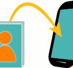 kontakte übertragen android