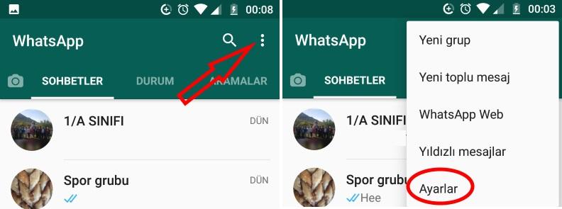 Image 1 WhatsApp Çevrimiçi Durumu Nasıl Gizlenir