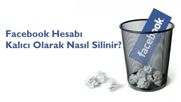 image of facebook hesabi kalici olarak nasil silinir
