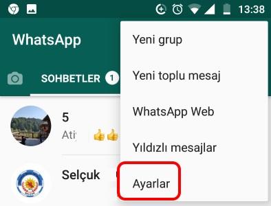 image2 eski whatsapp sohbetleri yeni android akilli telefona nasil aktarilir