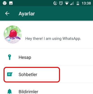 image3 eski whatsapp sohbetleri yeni android akilli telefona nasil aktarilir