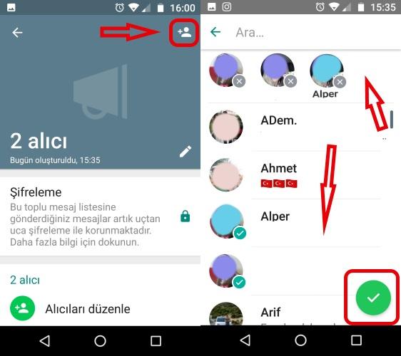 whatsapp toplu mesaj