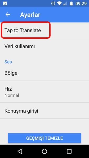 whatsapp facebook messenger dil çeviri