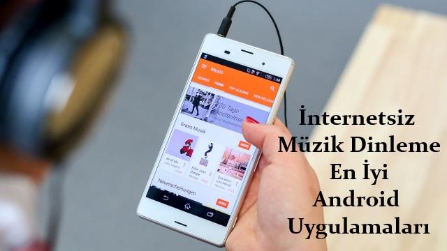 internetsiz müzik dinleme