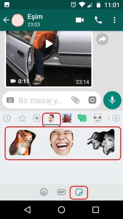 whatsapp çıkartmalar