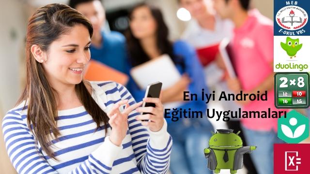 en iyi android eğitim uygulamaları
