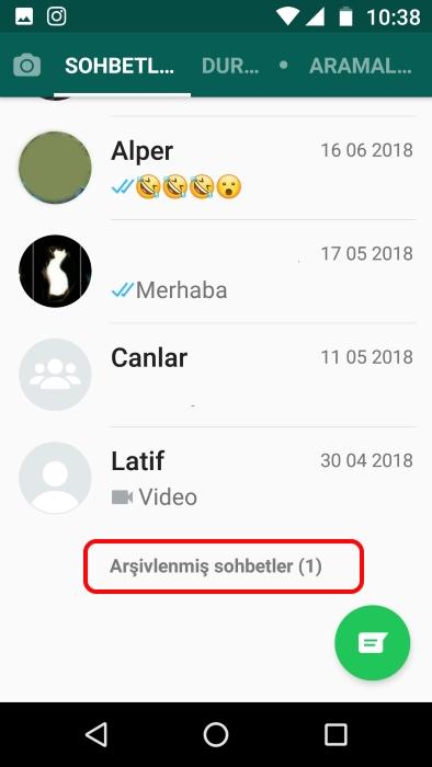 whatsapp-konuşma-gizleme