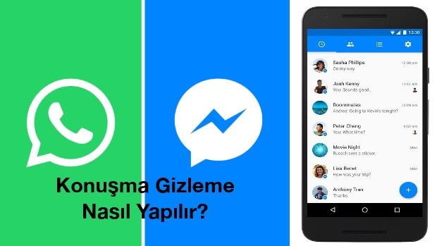 facebook-arşiv-whatsapp-konuşma-gizleme