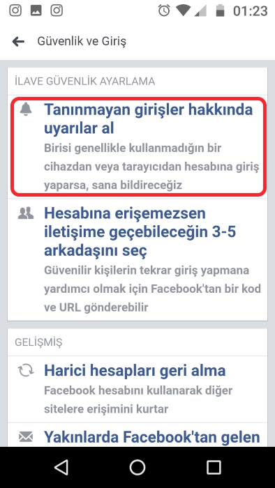 facebook-giriş