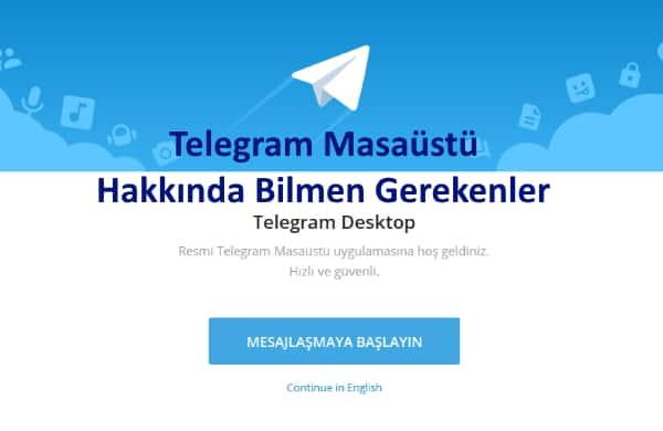telegram-masaüstü