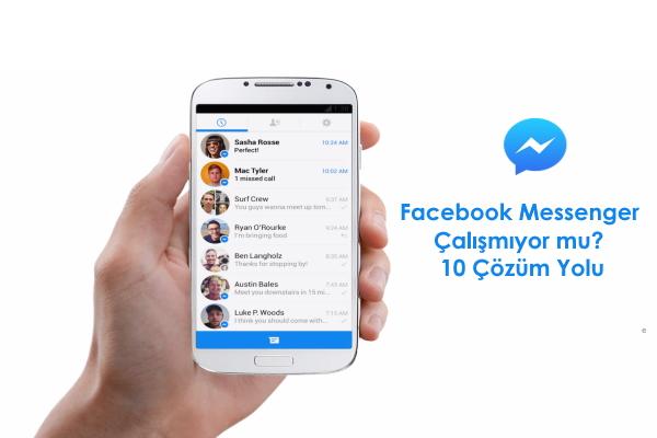 facebook-messenger-çalışmıyor