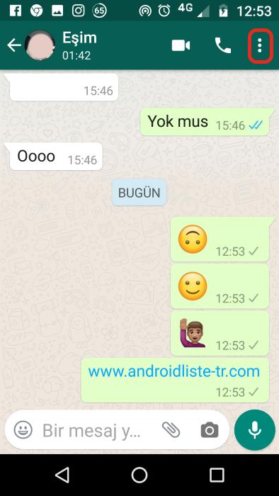 whatsapp-sohbet-sabitleme-kısayol-oluşturma