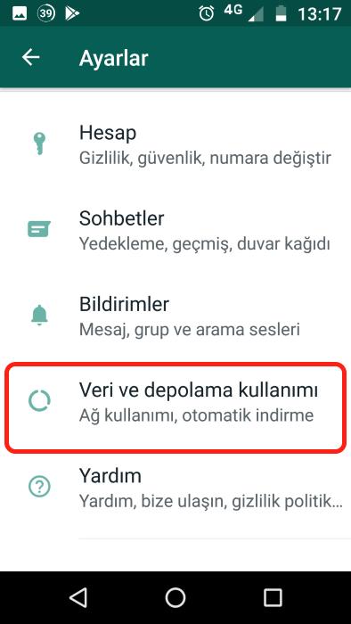 whatsapp-otomatik-resim-indirme-kapatma